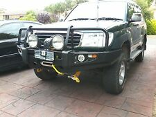 LANDCRUISER 100 SERIES IFS 1998-2006 PREMIUM HEAVYDUTY CAMP-RIGHT FRONT BULLBAR