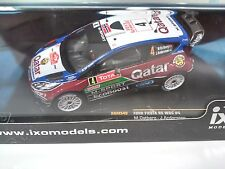 FORD FIESTA RS WRC OSTBERG MC 2013 IXO RALLY 1:43 DIECAST-CAR-MODEL RAM540