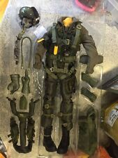 1/6 BBI Dragon F-15, F-18 or F-14 pilot suit, vest, helmet etc all core parts A+