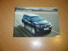 CATALOGUE Toyota Land Cruiser de 2012