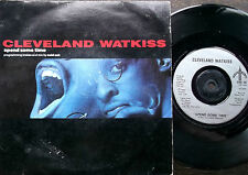 "CLEVELAND WATKISS Spend Some Time Cold Cut Mix Urban 7"" 1989 EX"