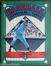 "1984 ""Baseball Superstars Album:"", 16 Pictures; Record Keeper, How to Keep Score"