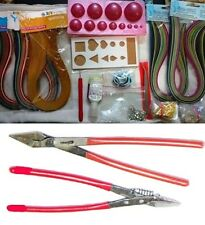25 Pcs Quilling kit Combo -Papers,Mould,tools,jewelmaking, cutter plier