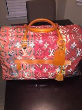 Louis Vuitton Richard Prince GM Boston Weekender Travel Duffle Bag