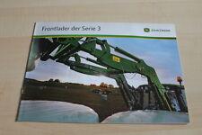 127955) John Deere Frontlader Serie 3 Prospekt 01/2009