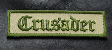 CRUSADER INFIDEL Morale Tactical Patch Multitan 3.75 inch HOOK LOOP PATCH