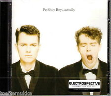 CD NEU OVP Pet Shop Boys Actually ELECTROSPECTIVE Stickered Last Parlophone 2012