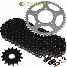 BLACK O-Ring Drive Chain & Sprocket Kit Fits SUZUKI SV650S 1999-2009