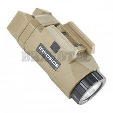 INFORCE APL FDE/Tan Tactical Auto Pistol Light Universal Weapon Rail Mount 200lm