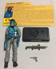G.I. Joe 25th Defense Of Cobra Island Lamprey v5 Figure 100% COMPLETE 2009