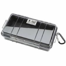 Pelican 1060 Micro Dry Case with Clear Lid - Black, New, Free Shipping