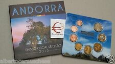 2015 ANDORRA 8 monete 3,88 EURO fdc BU KMS andorre divisionale ufficiale андорра