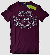 NWT Versace Jeans by Gianni Versace Slim Fit LOGO Graphic Print Tee