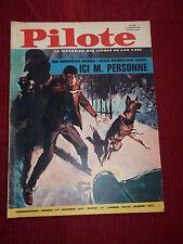 """JOURNAL """"PILOTE no 274"""" (1965) AVEC LE PILOTORAMA - LE MONDE DE LEONAR DE VINCI"""