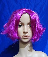 197 Nouvelle Femme Court flip out violet Costume Robe fantaisie perruque complète