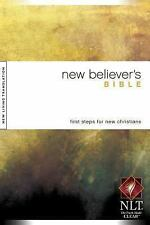 New Believer's Bible NLT by