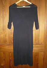 Noa Noa, size S: lovely, black, knitted dress