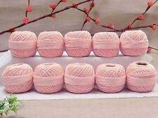 Cotton Crochet Lot Of 10 Pcs Anchor Knitting Thread Tatting Yarn Embroidery Ball