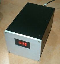 Full Aluminum Enclosure AMP case power supply psu box chassis can drill holes