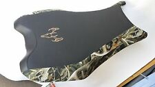 Honda FOREMAN 500  CAMO & GRIPPER seat cover with deer logo  FITS 2012 -2013