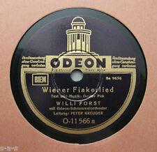 Nice Price: Willi Forst - Wiener Fiakerlied / 's wird schöne Maderln geb'n ODEON