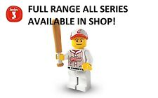 Lego minifigures baseball player series 3 (8803) new factory sealed