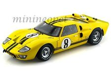 COLLECTIBLES 417 1966 FORD GT40 GT 40 MARK MK II 1/18 YELLOW w BLACK STRIPES #8