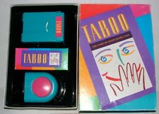 Taboo- The Game of Unspeakable Fun!! Original 1989 Version Hasbro Complete Game