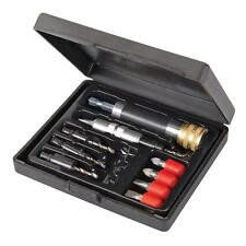 Quick Flip Driver Set Large 11pce Countersink Screwdriver Drilling Pilot