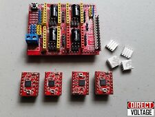 CNC Shield V3 Expansion Board +4PCS StepStick A4988 Stepper For Arduino DIY -R