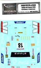 MF Zone Decals 1/24 FORD FIESTA S2000 Rally de France 2010