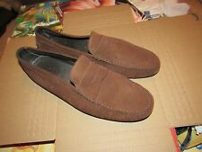 MENS TOD'S MADE IN ITALY LEATHER DRIVING MOCCASINS SIZE 12 US 11 UK PENNY LOAFER