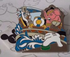 Donald Duck Kali River Boat Pink Elephant Animal Kingdom Booster Disney Pin