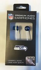 Seattle Seahawks iHip Premium Audio Earphones Earbuds - iPhone iPod NEW