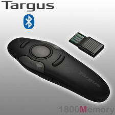 Targus Wireless Presenter with Laser Pointer 2.4GHz Long Range 30ft Preset RF