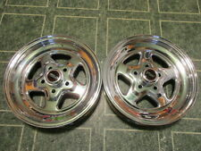 """2-New WELD WHEELS PRO STAR 15 X 3.5"""",5on4.5""""BP,1.375BS FORD MOPAR FRONT RUNNERS"""