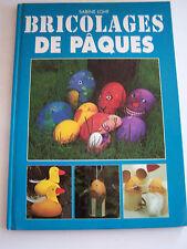 BRICOLAGES DE PAQUES . TRAVAUX MANUELS .EDUCATIFS . CREATION .