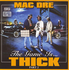 Mac Dre - The Game Is Thick, Part 2 [PA]  CD+DVD SEALED NEW w/ Mob Figaz, Dubee