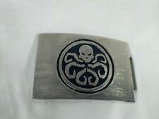 Captain America, Red Skull Hydra Belt Buckle, Solid Metal, Very Detailed