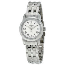 Tissot Classic Dream Jungfraubahn White Dial Stainless Steel Ladies Watch