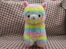 Japan Amuse Rainbow Arpakasso Alpacasso Alpaca 18cm Plush Toy gift