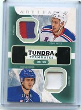 2016-17 ARTIFACTS #T2-NYR KEVIN HAYES & CHRIS KREIDER DUAL PATCH #4/15, RANGERS