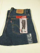 LEVI 550 CLASSIC STRETCH RELAXED JEANS MS SZ 8 LONG NWT