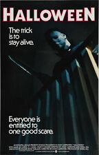 18X24Inch Art HALLOWEEN (1978) Movie Poster Horror Michael Myers Slasher P52