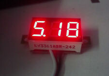 Digital LED Mini Voltmeter DC 4.7V - 30V Voltage Meter