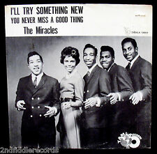 THE MIRACLES-I'll Try Something New-Rare Picture Sleeve-TAMLA #54059