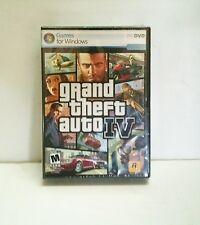 BRAND NEW Factory Sealed Grand Theft Auto IV Windows PC-DVD GTA 4