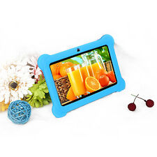 "Quad Core 7"" Tablet for Kids 8GB HD Android 4.4 Dual Camera Wi-Fi Bluetooth Blue"