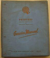 Austin Princess DS7 & DM7 Saloon & Limousine Original Service Manual (Workshop)