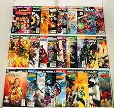 LOT OF 27 BRAVE AND THE BOLD (2007) #1-35 SET + MINI SERIES  DC